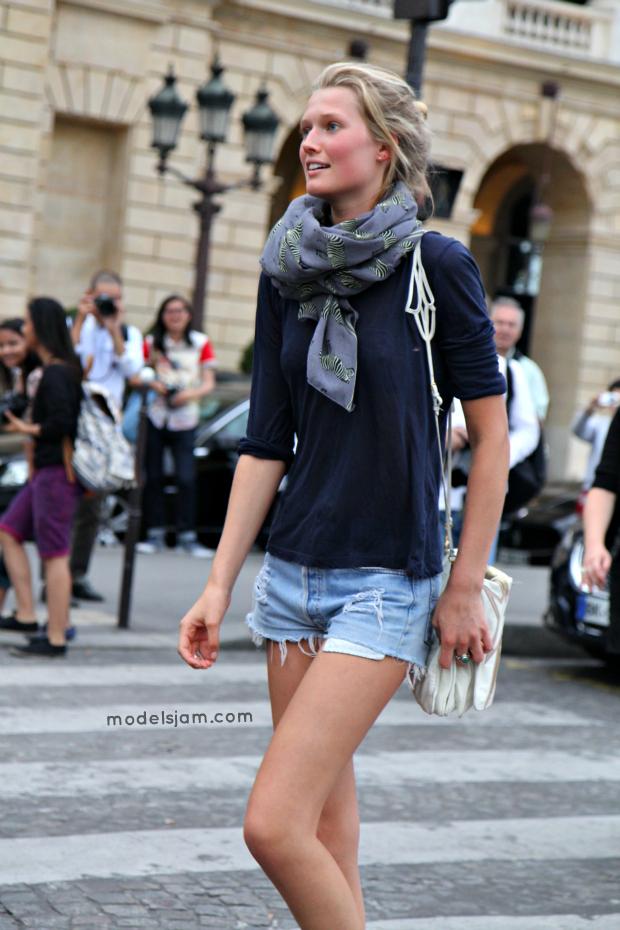 Models Jam Toni Garrn Paris July 2012