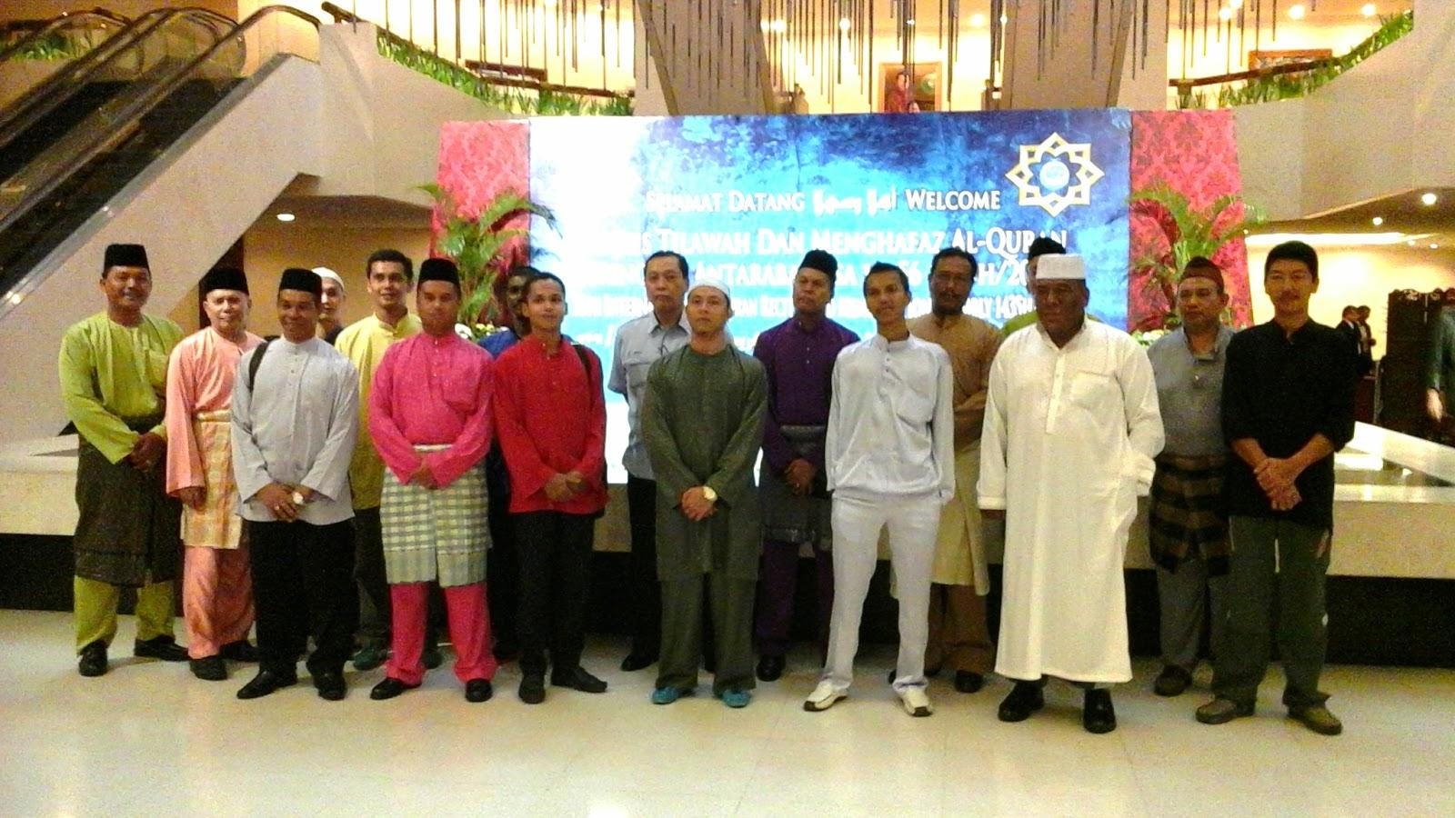 Intervensi Lawatan Parol WPKL Ke Majlis Tilawah Dan Menghafaz Al-Quran Peringkat Antarabangsa Ke-56 (1345H / 2014M)
