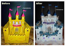 Замок для снежной королевы своими руками 35