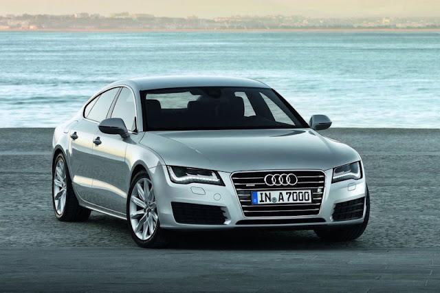 2011 Audi A7 Sportback Silver Wallpaper