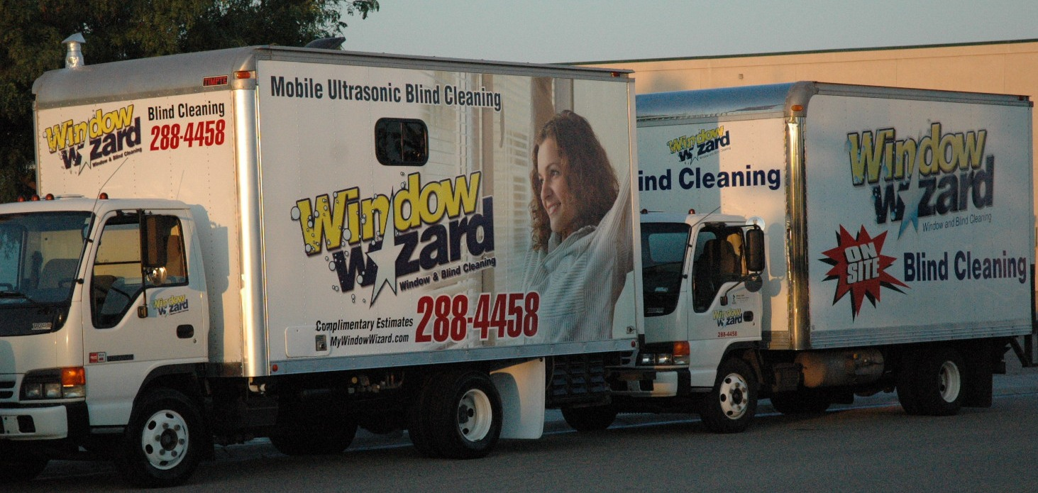 Window Wizard Mobile Onsite Ultrasonic Blind And Shade