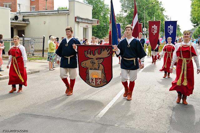 Jelgavas pilsētas svētku gājiens 2013.