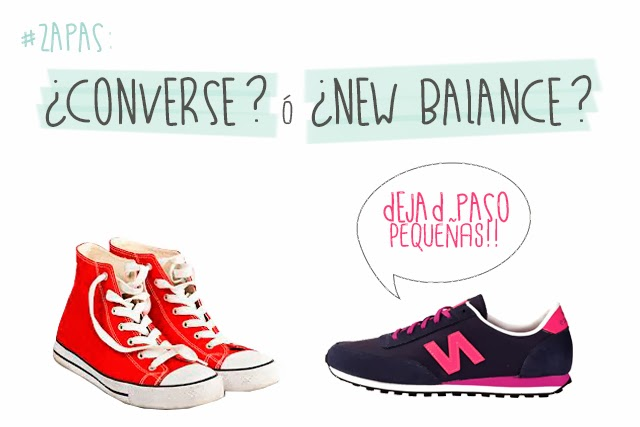 new balance vs converse hermanas bolena