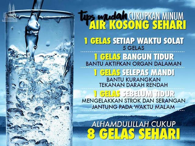 Tips Minum Sunnah Rasulullah SAW