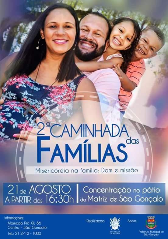 Caminhada das Famílias - Misericórdia na Família, Dom e Missão