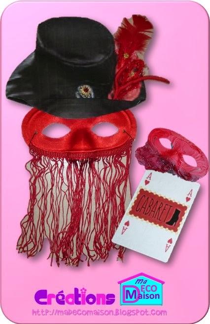 Vitrine Carnaval Avec Des Masques Creations Ma Deco Maison