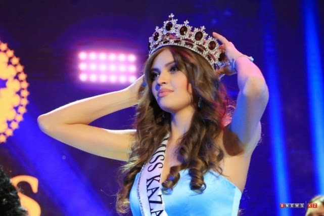 Regina Vandysheva crowned Miss Kazakhstan 2014