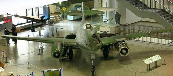 Messerschmitt Me 262 di Museum Jerman