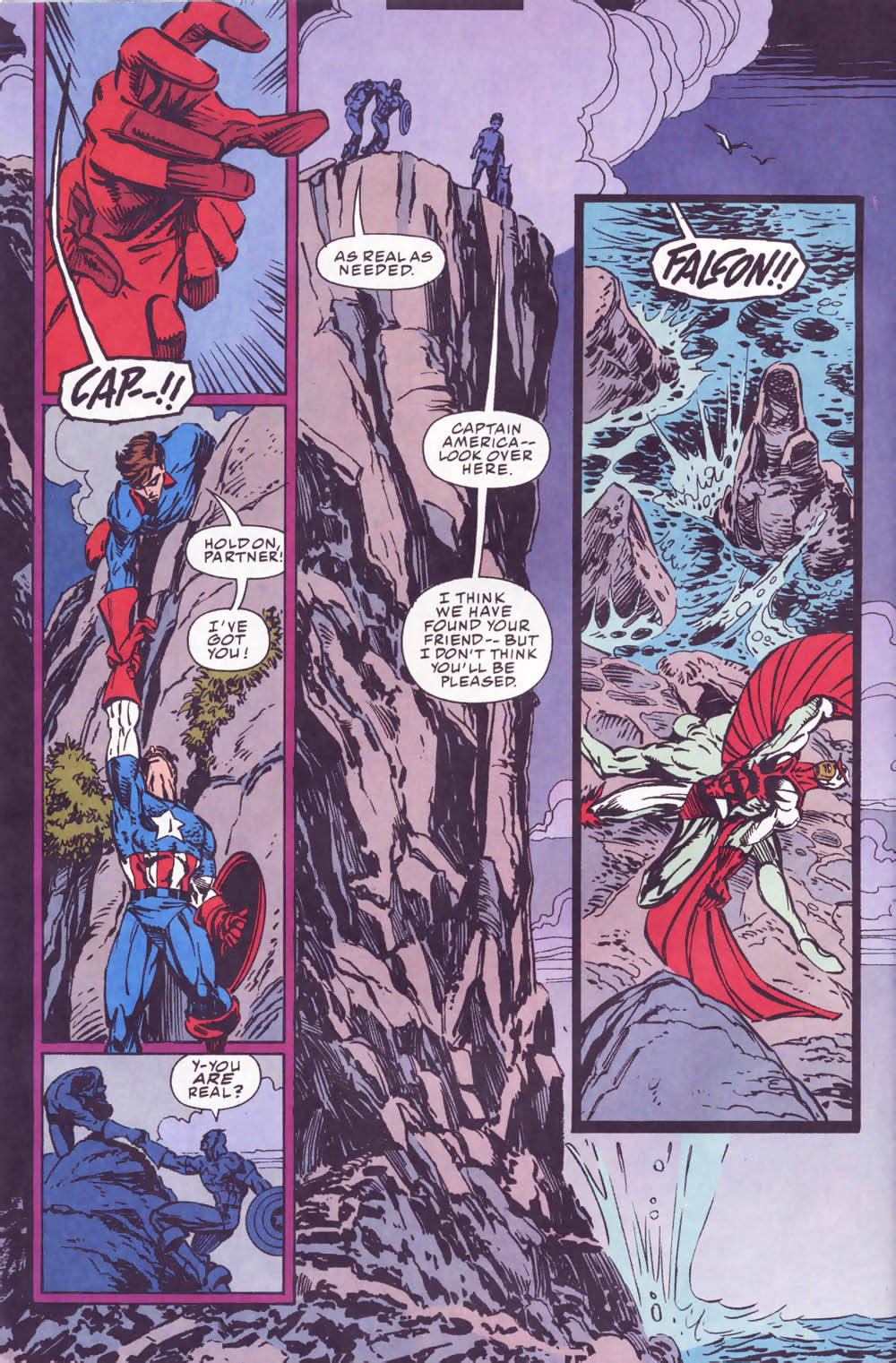 Captain America (1968) Issue #440b #393 - English 17