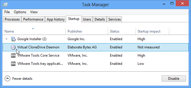 Cara Menonaktifkan Program Startup Windows 8