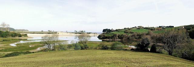 Ría La Rabia en Parque Natural de Oyambre