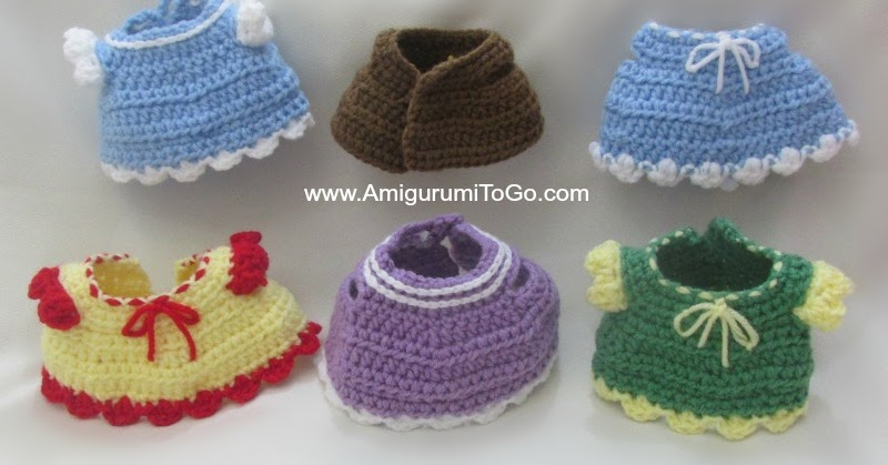 Pig Amigurumi To Go : Crochet Dress and Vest ~ Amigurumi To Go