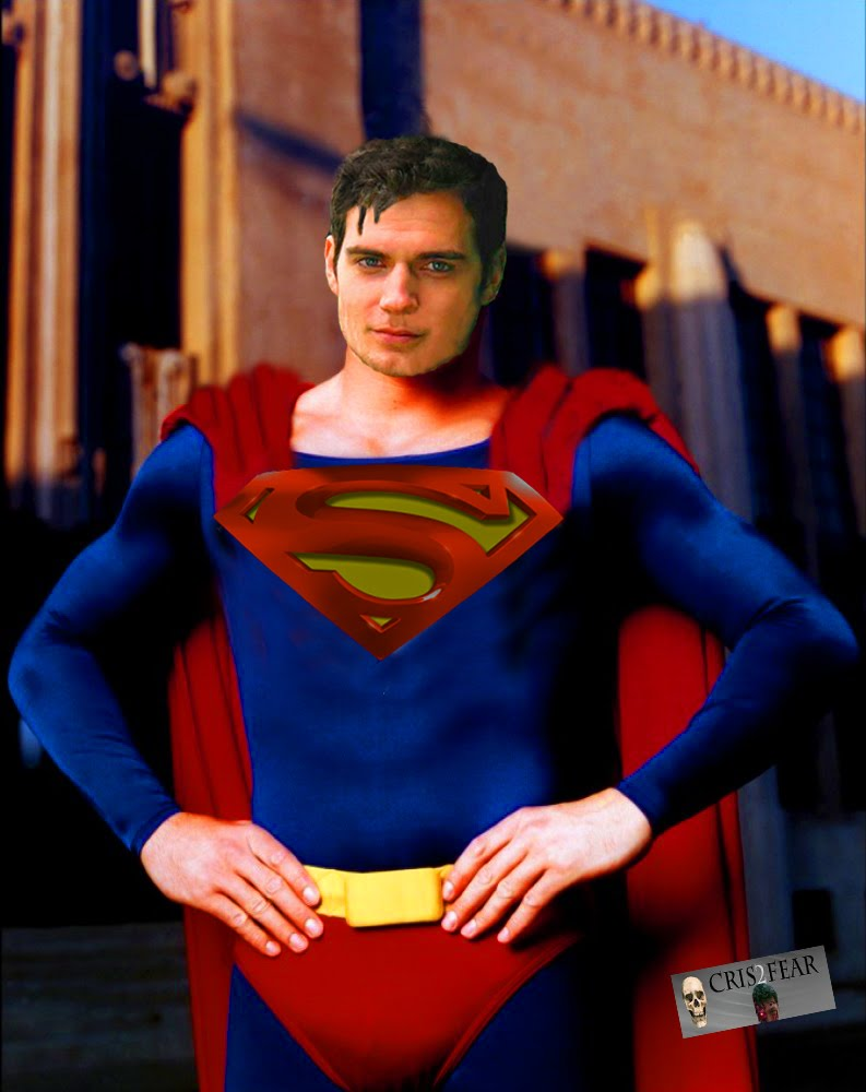 Cris2fearcomicreader MY FAN MADE SUPERMAN HENRY CAVILL