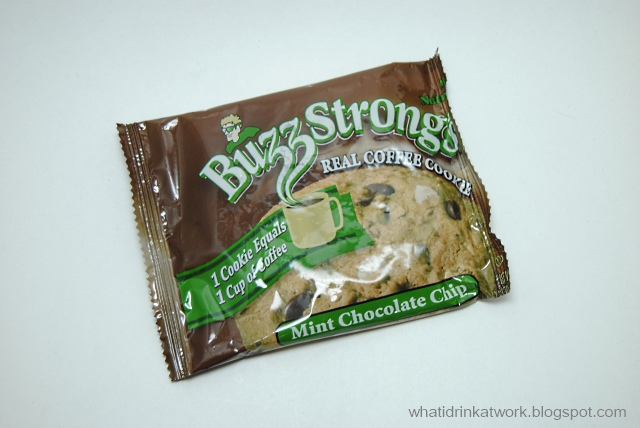 ... At Work: Buzz Strong's Real Coffee Cookie Mint Chocolate Chip Review