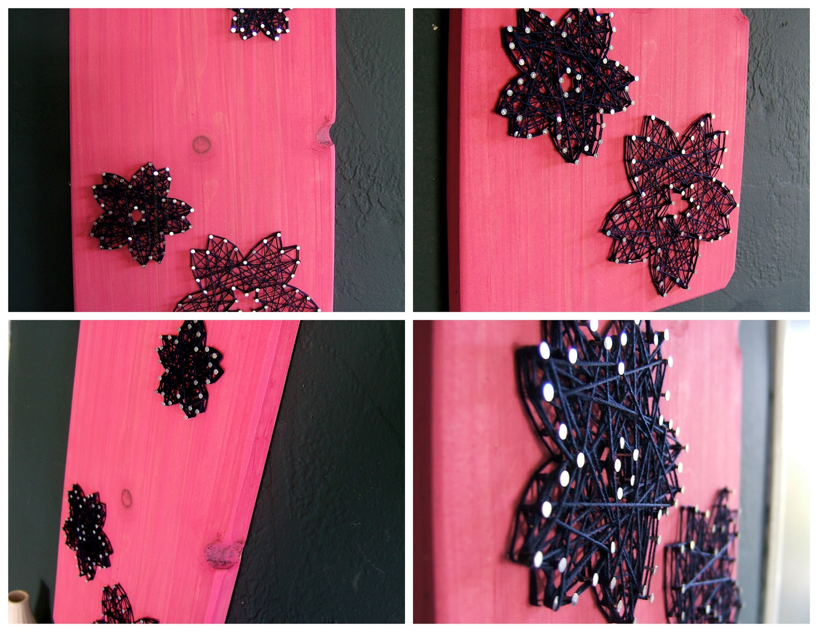 nine red new string art tablets