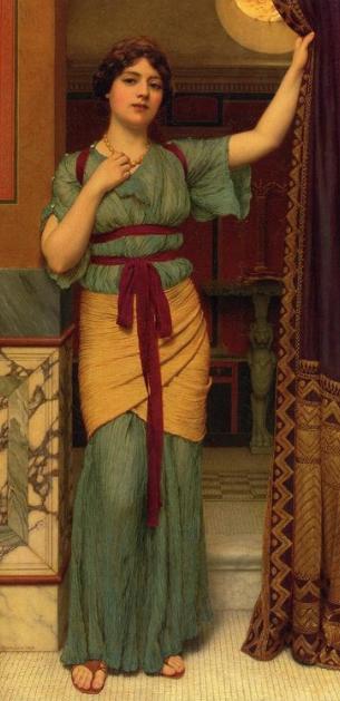 godward lady pompeii