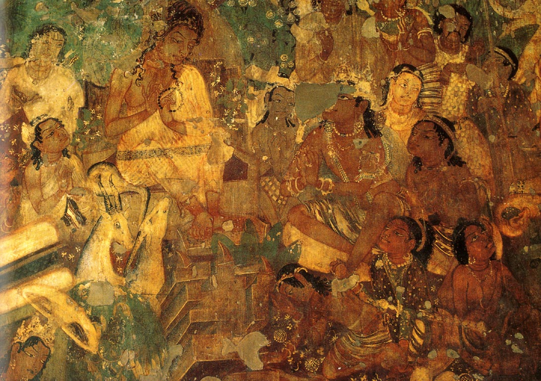 New york academy of art escape from studio lockdown for Ajanta mural painting