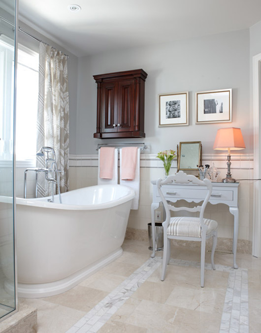 Parkdale ave sarah richardson bathrooms for Bathroom design 101