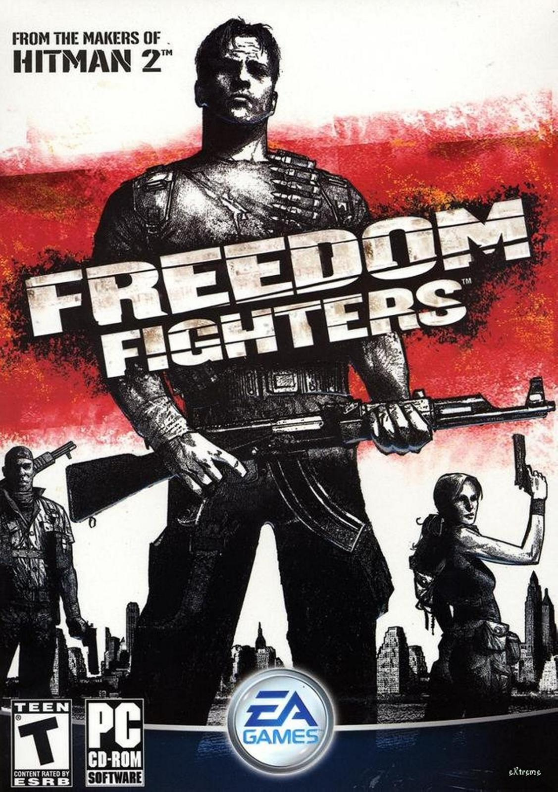 Freedom Fighters 1 Game Poster | Freedom Fighters 1 Game Cover