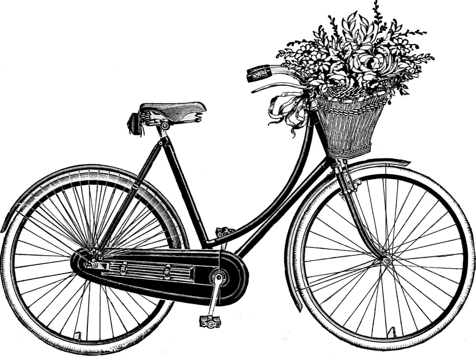 Vintage Bicycle Basket 75