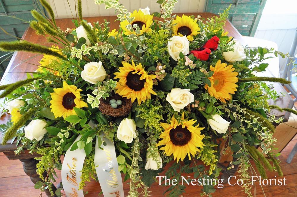 The nesting company sunflower sympathies