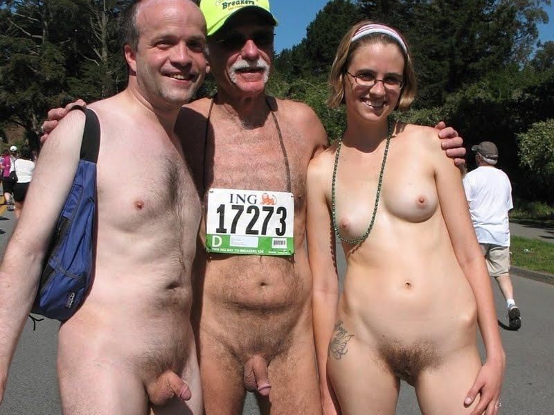 Ordinary nude people