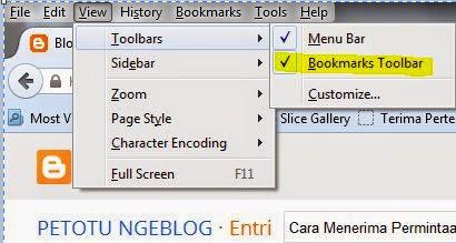 Cara menambah Bookmark pada Browser kita, Cara Menerima Permintaan Pertemanan Facebook Secara Massal