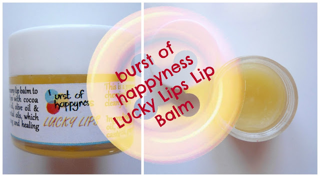 burst of happyness lucky lips lip balm review swatch buy online