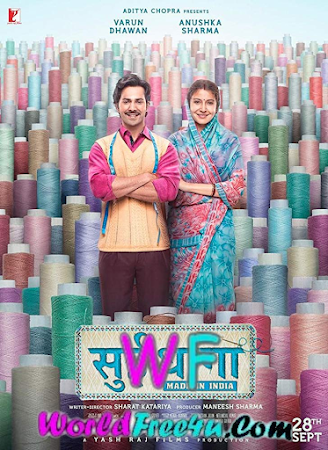 Watch Online Sui Dhaaga: Made in India 2018 Full Movie Download HD Small Size 720P 700MB HEVC HDRip Via Resumable One Click Single Direct Links High Speed At viagrahap30.org