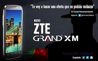 Concursos ZTE Grand XM gratis - Yoigo