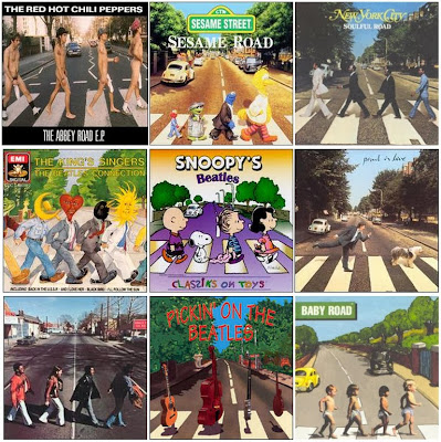 The Beatles - Abbey Road Album Cover Spoofs