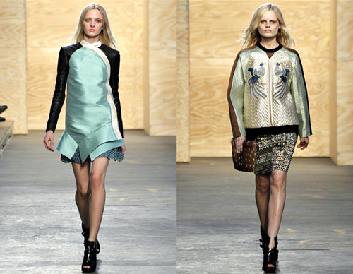 Proenza Shouler A/W12 collection