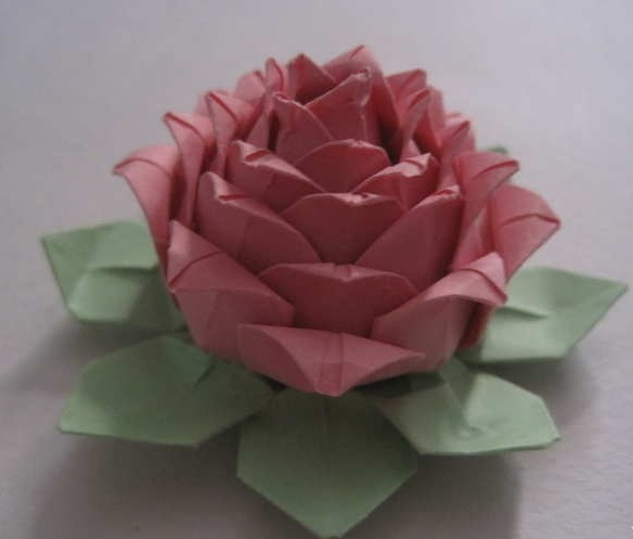 What Is Origami Multiple Layer Origami Lotus Flower