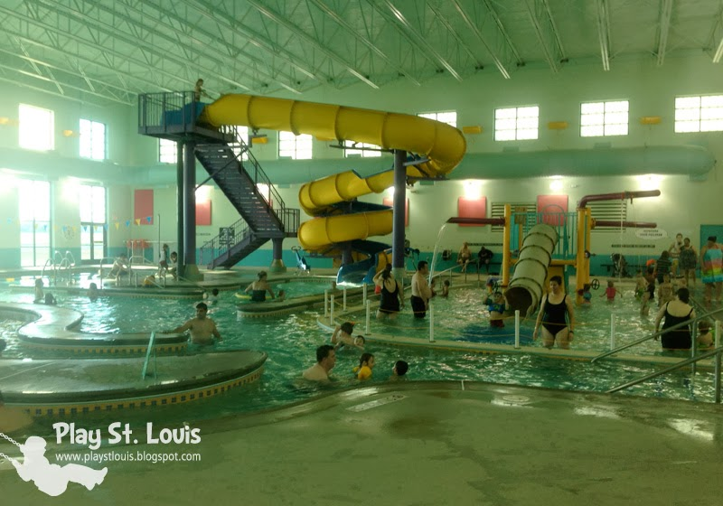 Play St Louis Korte Recreation Center Indoor Pool Highland Il