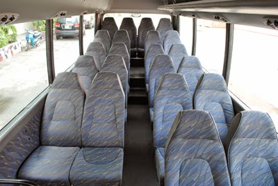 xe đi Hòa Bình 45 chỗ rộng rãi