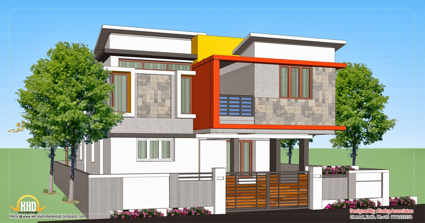 Home Design Engineer Style Kerala Style Villa 6 ~ Engineering Dairy