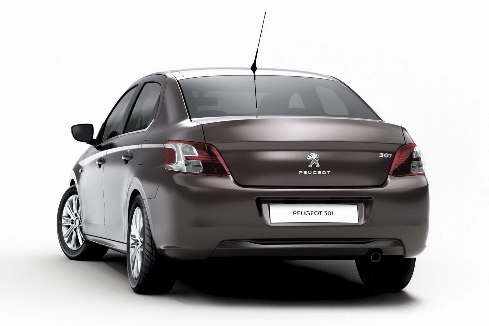 Sedan Peugeot 301