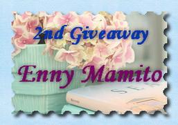 2nd Giveaway Enny Mamito