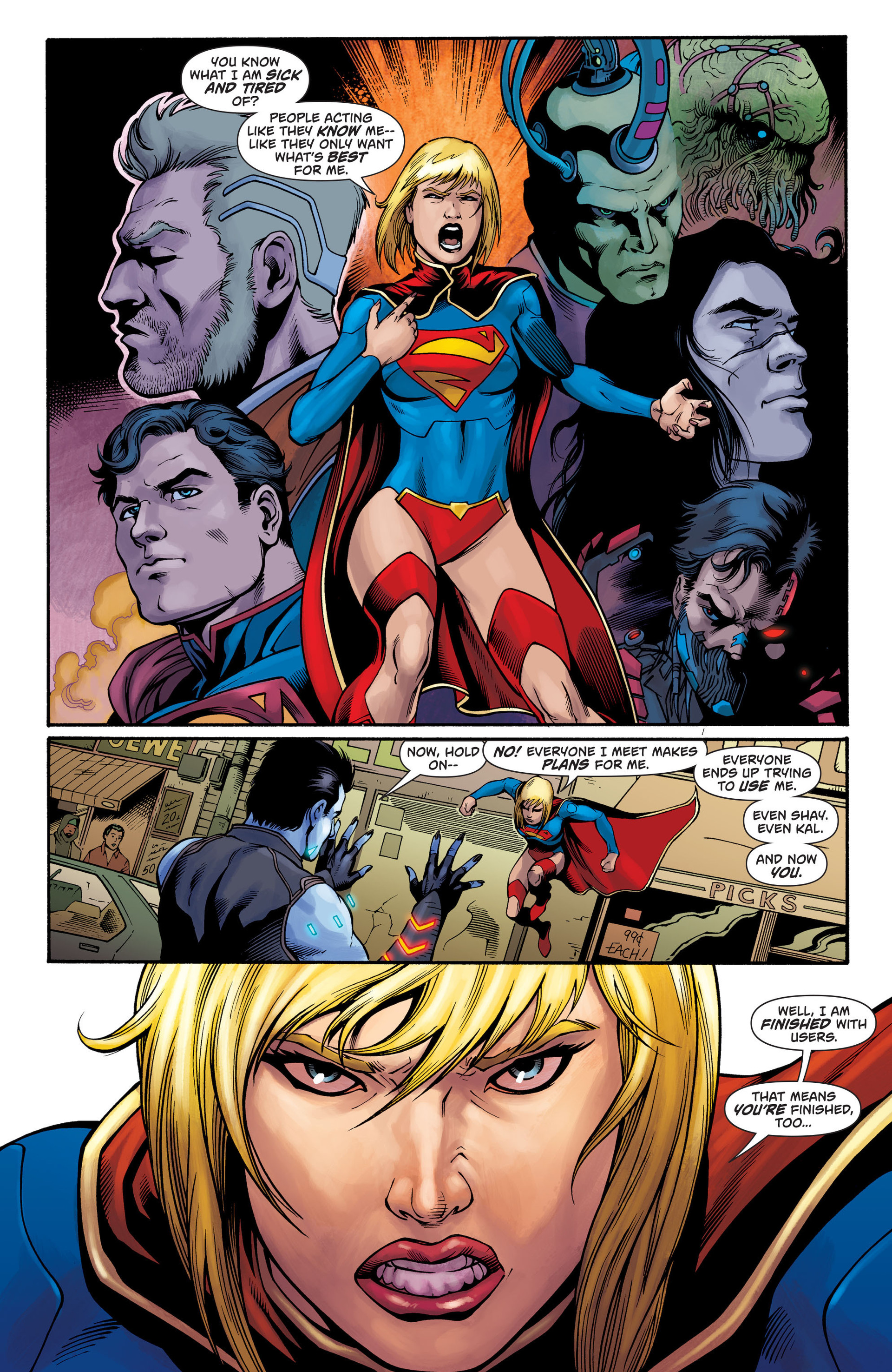 Supergirl (2011) Issue #28 #30 - English 13