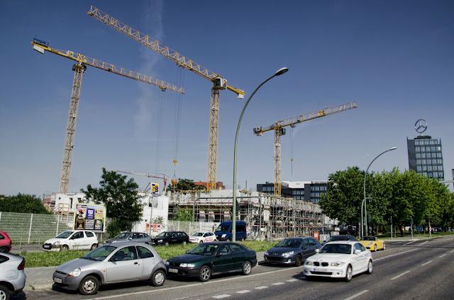 Baustelle Mühlenstraße, Wohn- und Bürogebäude, 10243 Berlin, 18.06.2013