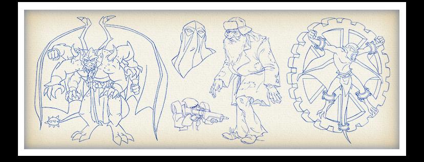 Gargoyles Sheet - 003