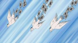 Chōjū Giga (超獣偽画) Burung dan Kertas Peledak