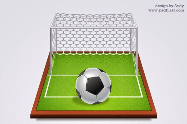 Soccer Icon PSD