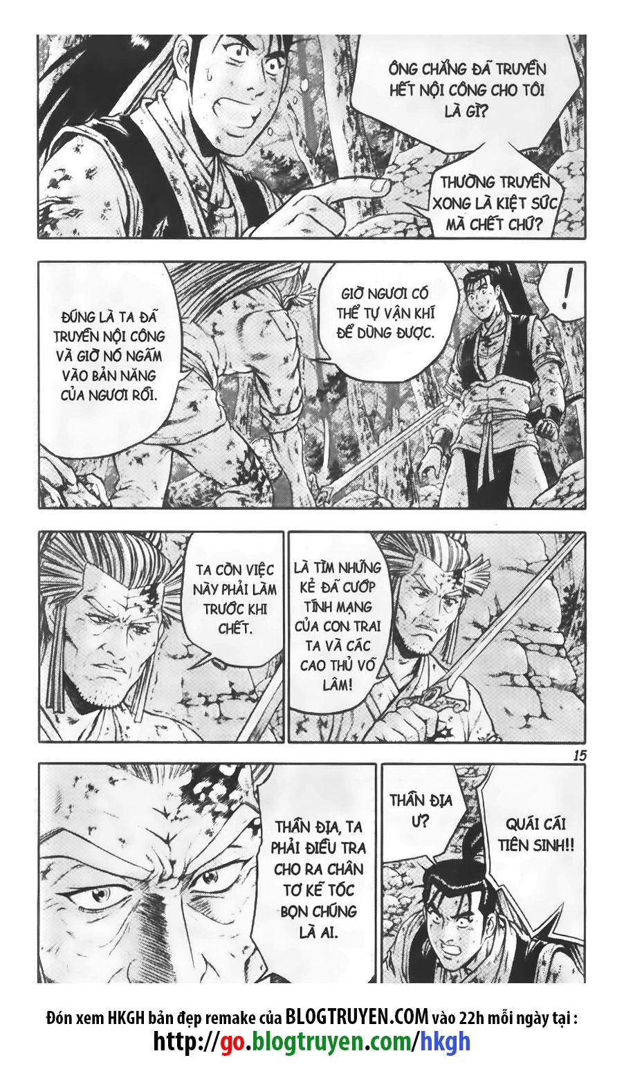 Hiệp Khách Giang Hồ chap 309 Trang 16 - Mangak.info