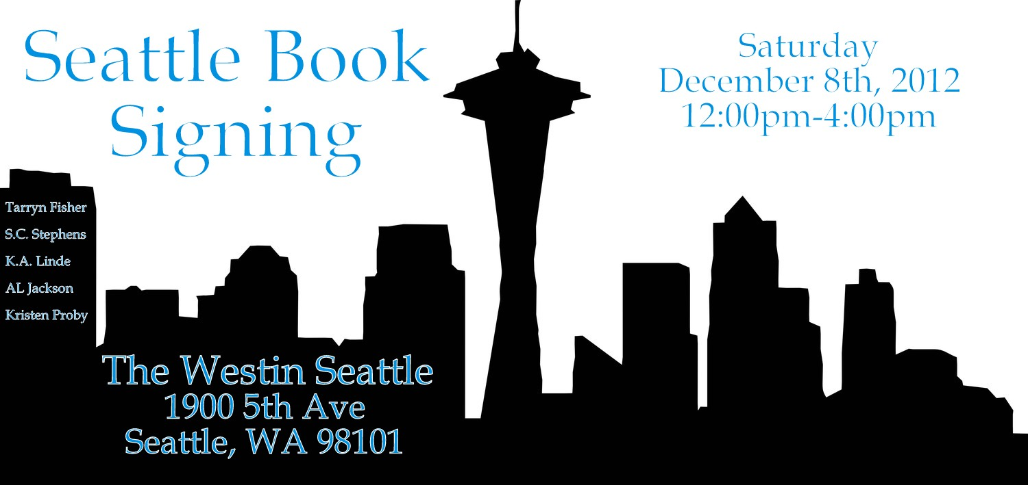 Seattle Book Signing
