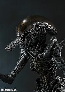 Bandai SH Monsterarts AvP Alien Warrior Figure