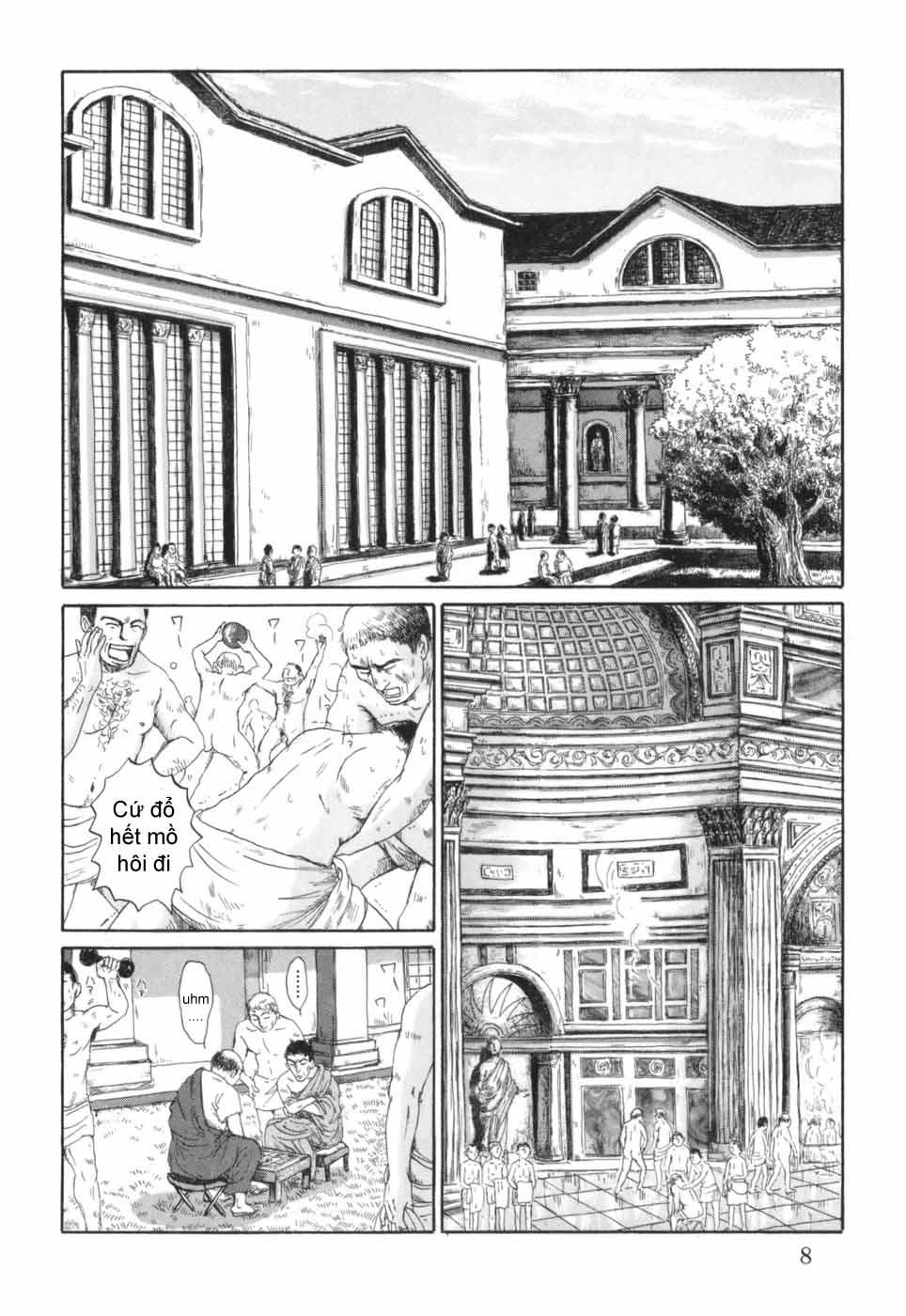 Thermae Romae chap 1 - Trang 13