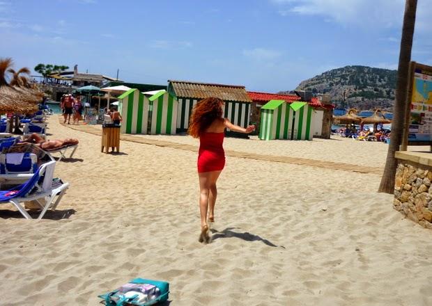 correr playa mallorca