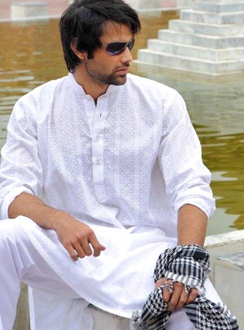 Boys Model Amazing Bridegroom White Colored Shalwar