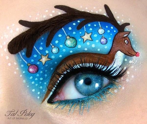 Eye-Makeup Illustrations by Tal Peleg 2